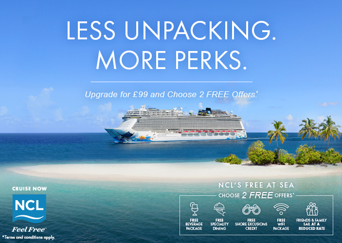 Norwegian Cruise Line - Free At Sea