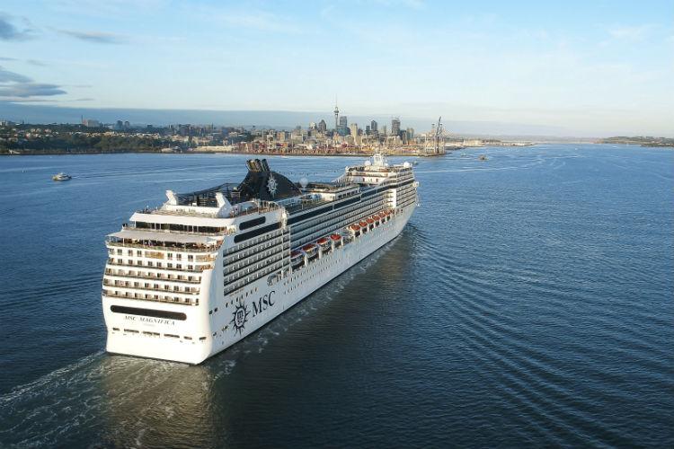 MSC Magnifica - Ship exterior