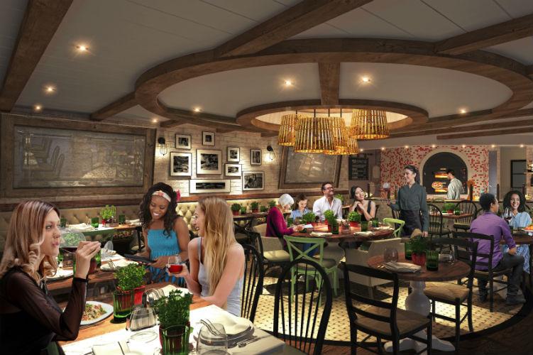 Giovanni's Kitchen & Wine Bar - Allure of the Seas - 2020 Refurb
