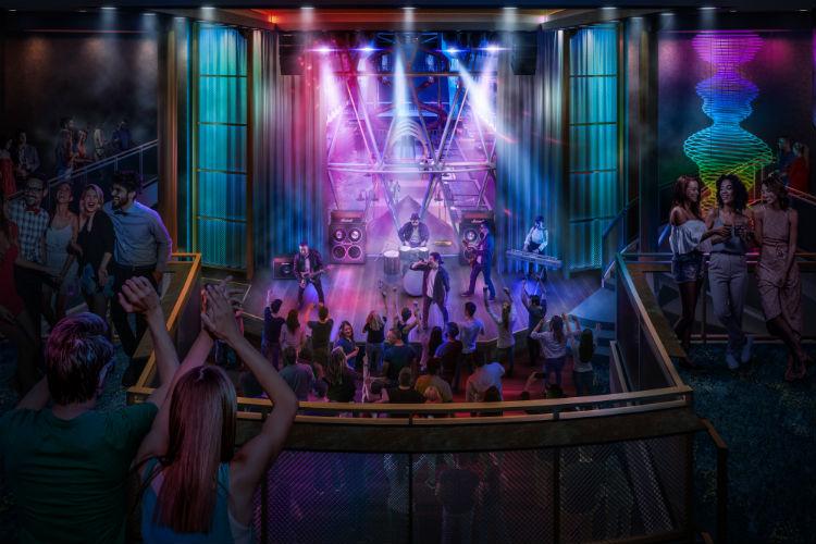 Music Hall - Allure of the Seas - 2020 Refurb