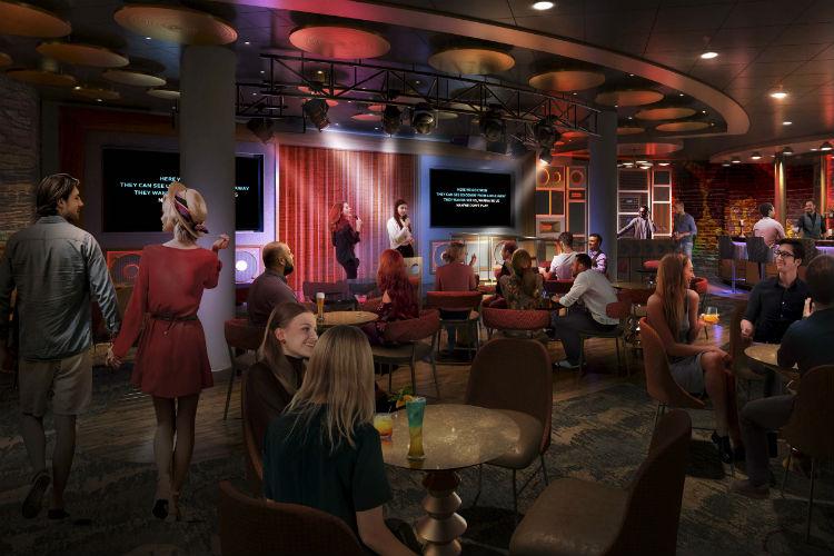 Spotlight Karaoke - Allure of the Seas - 2020 Refurb