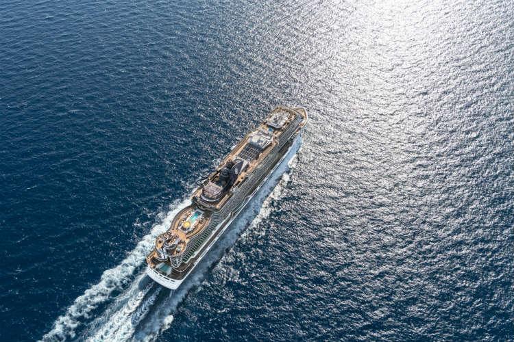 MSC Cruises - Ship at sea