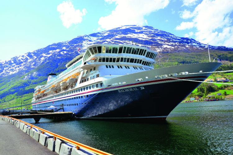 Balmoral - Fred. Olsen Cruise Ship