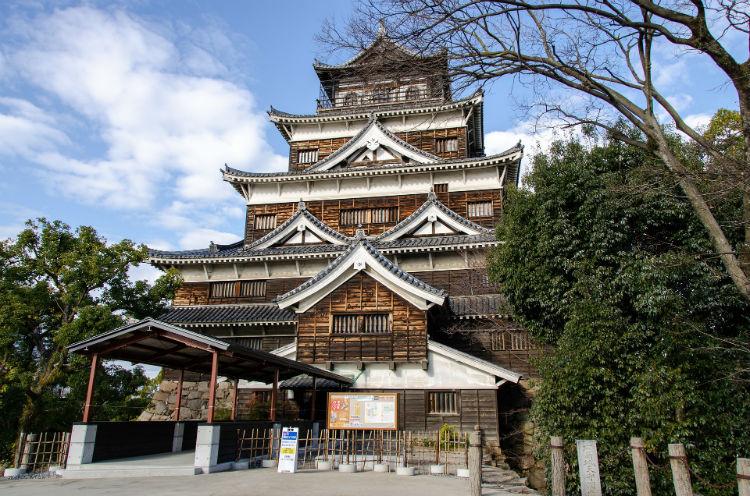 Hiroshima Temple - Japan